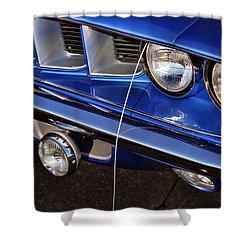 1971 Plymouth Hemicuda Shower Curtain by Gordon Dean II