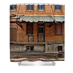 Abandoned Warehouse Shower Curtain by Jill Battaglia