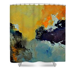 Abstract 8821013 Shower Curtain by Pol Ledent