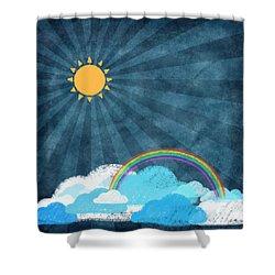 After Rainy Shower Curtain by Setsiri Silapasuwanchai