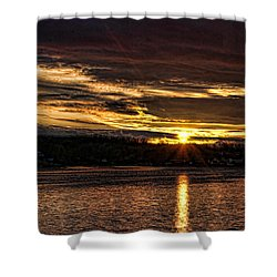 After The Storm Shower Curtain by Rick Friedle