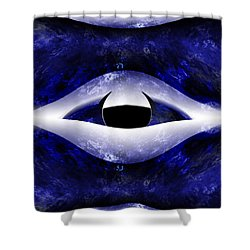 All Seeing Eye Shower Curtain by Christopher Gaston