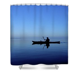 Serenity Surrounds Shower Curtain