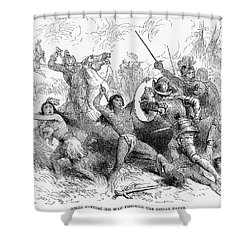 Alonso De Ojeda (1465?-1515) Shower Curtain by Granger