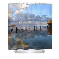 Ambergris Caye Belize Shower Curtain