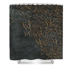 Ancient Fossils Shower Curtain by Christopher Gaston