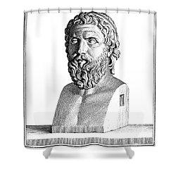 Aristophanes (c450-c388 B.c.) Shower Curtain by Granger