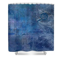 Atlantis Shower Curtain by Christopher Gaston