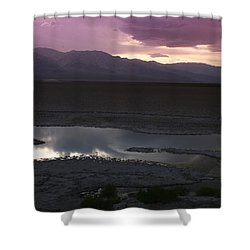 Badwater Basin Death Valley National Park Shower Curtain