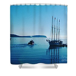 Bar Harbor Maine Shower Curtain