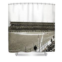Baseball Game, C1912 Shower Curtain by Granger