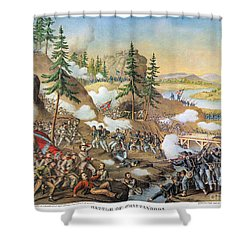 Battle Of Chattanooga 1863 Shower Curtain by Granger