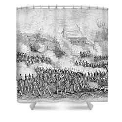 Battle Of Monterrey, 1846 Shower Curtain by Granger
