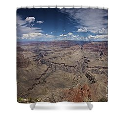 Beautiful Vista Of Grand Canyon Shower Curtain by Terry Moore
