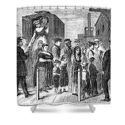 Blackwells Island, 1868 Shower Curtain by Granger