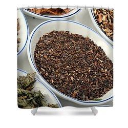 Bladderwrack Herb Shower Curtain by Photo Researchers, Inc.