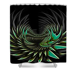 Blossom Shower Curtain by Christopher Gaston