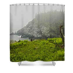 Shower Curtain featuring the photograph Bold Coast by Alana Ranney