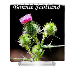 Bonnie Scotland Shower Curtain