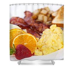 Breakfast  Shower Curtain by Elena Elisseeva