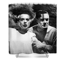 Bride Of Frankenstein, 1935 Shower Curtain by Granger