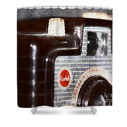 Shower Curtain featuring the photograph Brownie by Traci Cottingham