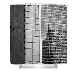 Business Center Shower Curtain