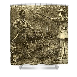 Capture Of Nat Turner, American Rebel Shower Curtain by Photo Researchers