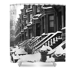 Carroll Street Shower Curtain