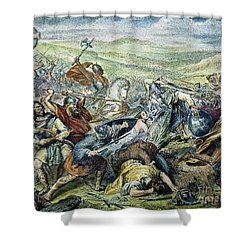 Charles Martel (c688-741) Shower Curtain by Granger