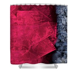 Christmas Frost Shower Curtain by Christopher Gaston