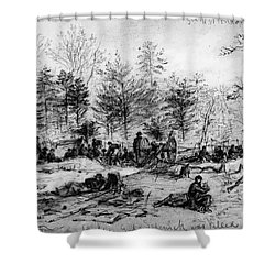 Civil War: Spotsylvania Shower Curtain by Granger