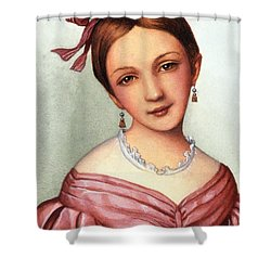 Clara Schumann (1819-1896) Shower Curtain by Granger