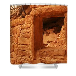 Cliff Palace Mesa Verde National Park Shower Curtain