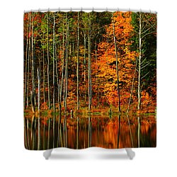 Coxsackie New York State Shower Curtain by Mark Gilman
