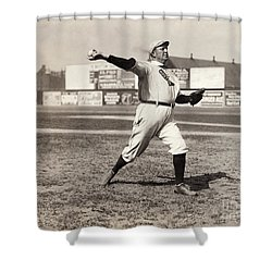Cy Young (1867-1955) Shower Curtain by Granger
