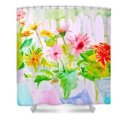 Daisy Daisy Shower Curtain