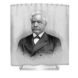 De Lesseps, French Diplomat, Suez Canal Shower Curtain by Science Source
