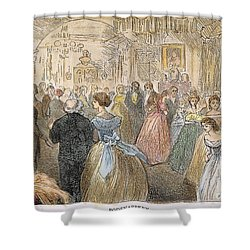 Dickens: Our Mutual Friend Shower Curtain by Granger