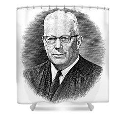 Earl Warren (1891-1974) Shower Curtain by Granger