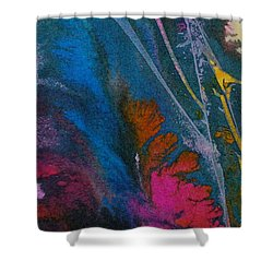 Shower Curtain featuring the painting Earth Spirit by Mary Sullivan