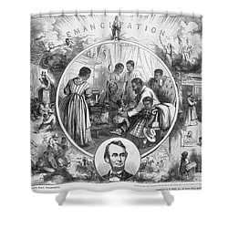 Emancipation Proclamation Shower Curtain by Granger