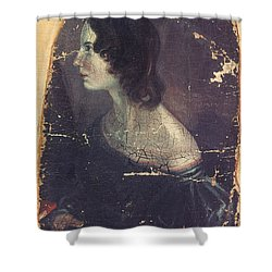 Emily Bront� (1818-1848) Shower Curtain by Granger