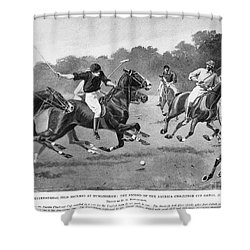 England: Polo, 1902 Shower Curtain by Granger