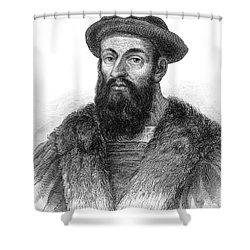 Ferdinand Magellan Shower Curtain by Granger