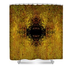 Fire Shower Curtain by Christopher Gaston