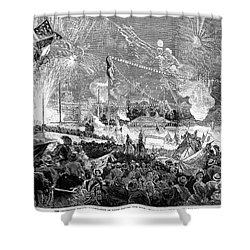 Fourth Of July, 1876 Shower Curtain by Granger