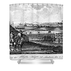 French Revolution, 1794 Shower Curtain by Granger