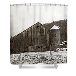 Frozen In Time  Shower Curtain by John Stephens