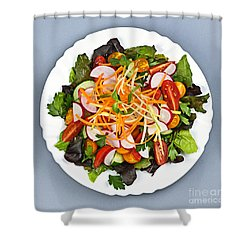 Garden Salad Shower Curtain by Elena Elisseeva
